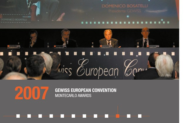 2007 - GEWISS EUROPEAN CONVENTION