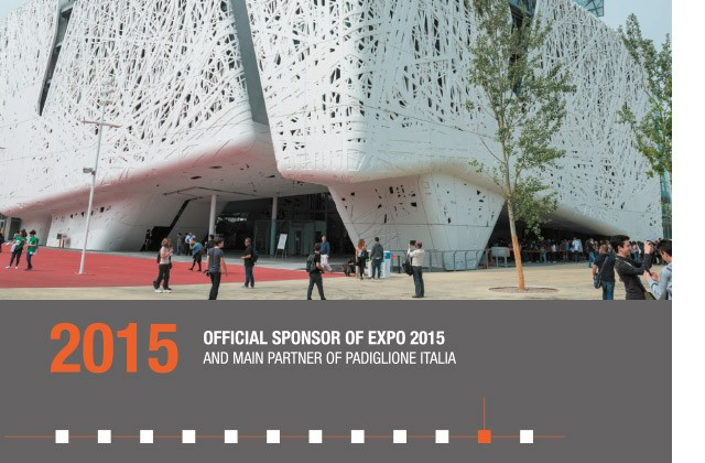 2015 - OFFICIAL SPONSOR OF EXPO 2015