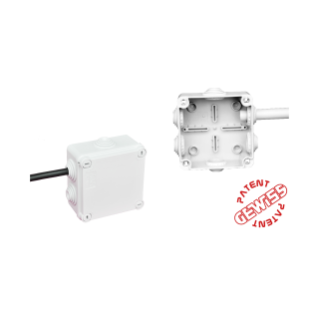 Versions with rapid entry cable gland