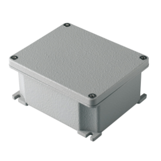 GW Connect range Metal surface-mounting watertight junction boxes