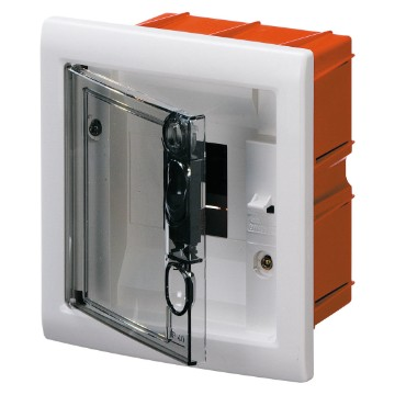 Enclosures predisposed for terminal block housing with extractable frame - White RAL 9016