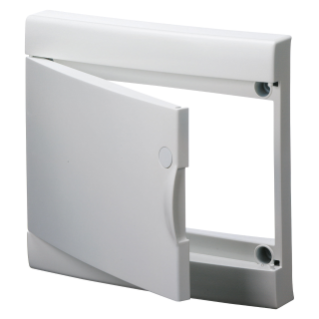 BLANK DOOR WITH FRAME FOR FINISHING FRENCH STANDARD MODULAR ENCLOSURES WITHOUT DOOR - IP40 - 52 MODULES