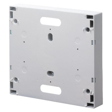 Support bases without door for EDF connection switch - plumbable White RAL 9016