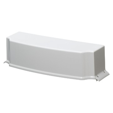 Aesthetic coupling covers for conduit and trunking entry for CDK distribution boards and enclosures