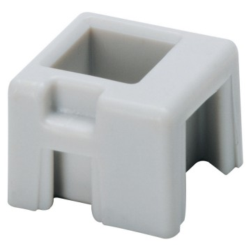Adaptor for fixing equipotential terminal blocks