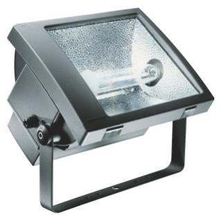 TITANO range Medium and high power aluminium floodlights