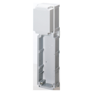 MODULAR BASE FOR COMBINATION MOUNTING OF VERTICAL FIXED SOCKET OUTLET HEAVY DUTY - 1 SOCKET OUTLET 63A - IP66