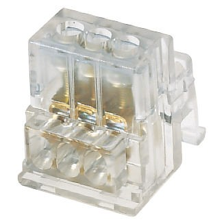 Single-pole equipotential terminal blocks with blanket grip - 450V - T 85°C - Transparent