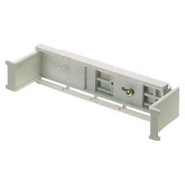 Rail for fixing equipotential terminal blocks in PTC flush-mounting modular boxes