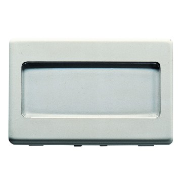 Push-buttons with illuminable name-plate - 250V ac