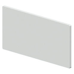 BLANK COVER PANELS - 1 MODULE HEIGHT FOR CDKi BOARDS - 18 MODULES