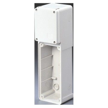 Modular bases for mounting combinations of fixed vertical socket-outlets - IP65