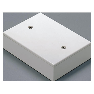 DEEP LID FOR FLUSH-MOUNTING RECTANGULAR BOX - 3 GANGS - DEVICE FRAME - CLOUD WHITE