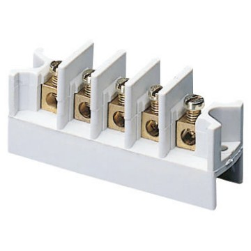 Press-on multi-pole terminal blocks - 450 V - Grey RAL 7035