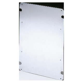 BACK-MOUNTING PLATE IN GALVANISED STEEL 200X254