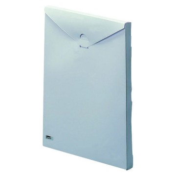 Document holder pocket in self-adhesive insulating material with kit of blank labels