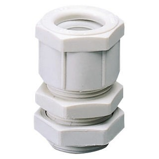 Nylon cable glands - PG pitch - grey RAL 7035 - IP66