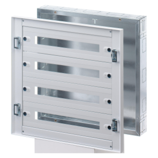 CVX DISTRIBUTION BOARD 160I - FLUSH-MOUNTING - 600x800x105 - 120(24x5) MODULES - IP30 - WITHOUT DOOR - GREY RAL7035