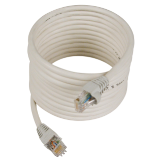 PATCH-CORDS RJ45-RJ45 - NOT SHIELDED - CATEGORY 6 UTP 24 AWG - 1m - GREY - 38 LAN