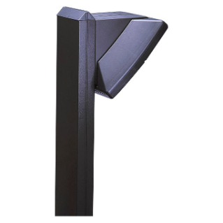 COLONNA EXTRO - SINGLE DEVICE - HEIGHT 1300MM - GRAPHITE GREY