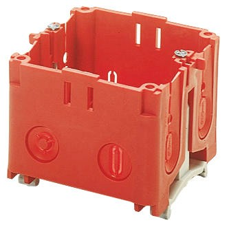 BR / FB Range device box for industrial flush-mounting socket-outlets and GEWISS 85 x 75 mm watertight lids