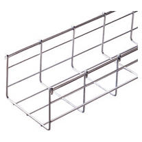 GALVANIZED WIRE MESH CABLE TRAY BFR110 - LENGTH 3 METERS - WIDTH 500MM - FINISHING: HP