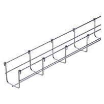 GALVANIZED WIRE MESH CABLE TRAY BFR30 - LENGTH 3 METERS - WIDTH 150MM - FINISHING: INOX 316L
