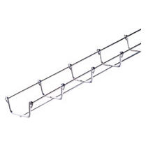 GALVANIZED WIRE MESH CABLE TRAY BFR30 - LENGTH 3 METERS - WIDTH 50MM - FINISHING: Z100