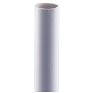 MEDIUM RIGID CONDUIT IRL - LENGTH 2M - PVC - DIAMETER 32MM - GREY RAL7035