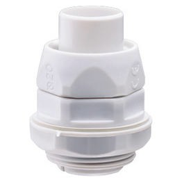 Straight, revolving coupling device - Metric pitch - IP54