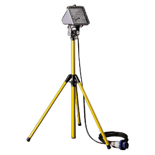 GENIUS - MOBILE USE - ON ADJUSTABLE TELESCOPIC SUPPORT (MIN. 1 m - MAX. 2 m) - 500 W HD R7s - IP55 - CLASS I - GRAPHITE GREY