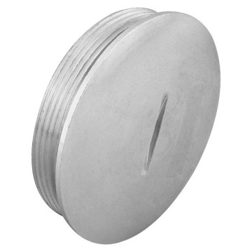 Nickel-plated brass closure caps - IP65