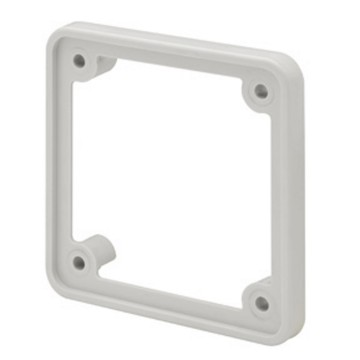 BR / FB Range Adaptor for 16 A fixed industrial flush-mounting socket-outlets complete with fixing screws