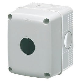Unwired enclosures for push-buttons, controls and indicators Ø 22 mm - Grey RAL 7035