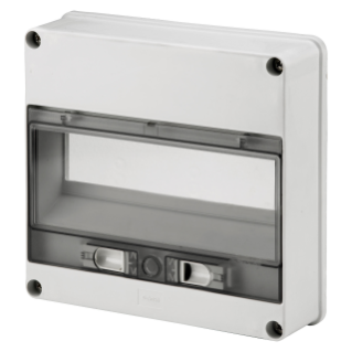 WATERTIGHT ENCLOSURE FRONT FOR Q-BOX - 12 MODULES