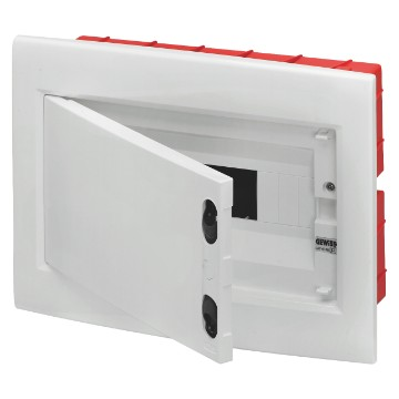 Enclosures predisposed for terminal block housing and extractable frame - White RAL 9016
