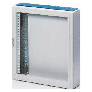CVX DISTRIBUTION BOARD 160E - SURFACE-MOUNTING - 600x800x140 - IP30 - WITHOUT DOOR - WITH EXTRACTABLE FRAME - GREY RAL7035
