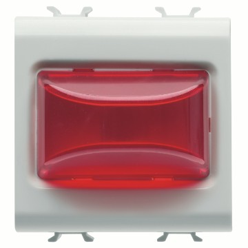 Protruding indicator lamps - 2 modules