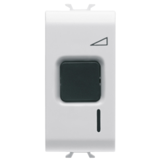 ELETRONIC, BUTTON COMMAND REGULATOR - 230V ac 50/60Hz - RESISTIVE 60- 500W / INDUCTIVE 60-500VA - 1 MODULE - WHITE - CHORUS