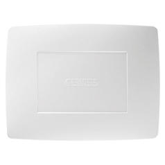PLAQUE PLEINE - 4 MODULES - BLANC - CHORUS