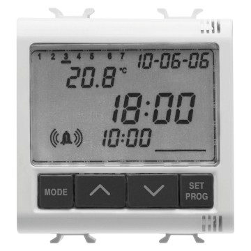 Clock - alarm - thermometer