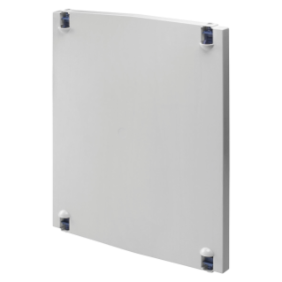 HINGED ENCLOSURE DOOR IN POLYESTER - FOR BOARDS 405X650 - GREY RAL 7035