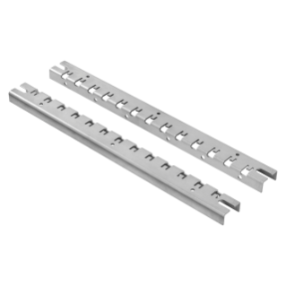 PAIR OF UPRIGHT FOR INSTALLATION - FAST AND EASY - FOR DISTRIBUTION BOARDS 800X1060