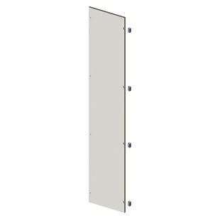 BLANK DOOR IN SHEET METAL - EXTERNAL - 400X1800 - GRIGIO RAL 7035