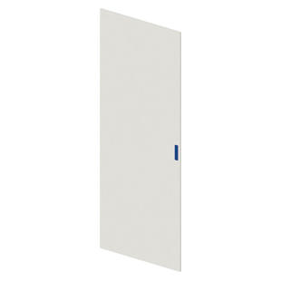 BLANK DOOR IN SHEET METAL - CVX 630X - 600X1800 - GRIGIO RAL 7035