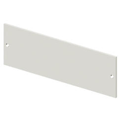BLANK FRONT PANEL - CVX 630K/M - 36 MODULES - 850X600 - GREY RAL7035