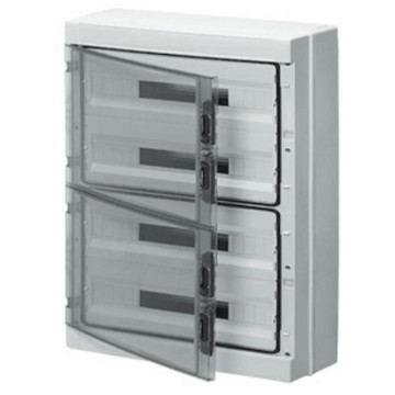 Enclosures and distribution boards fitted with bipolar 125 A terminal blocks