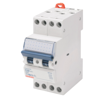 COMPACT MINIATURE CIRCUIT BREAKER - MTC 45 - 4P CHARACTERISTIC C 10A - 2MODULES