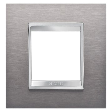 LUX - brushed stainless steel