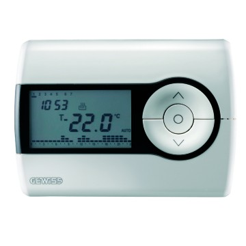 Timed thermostats - daily/weekly programming - battery-powered - Wall-mounting